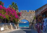 Erleben Sie die Schönheit der Altstadt von Rhodos-Stadt!