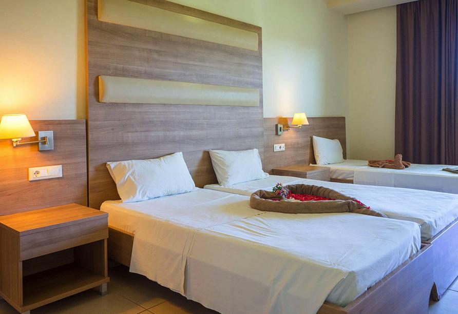 Beispiel eines Doppelzimmers Premium im Hotel Stamos in Faliraki