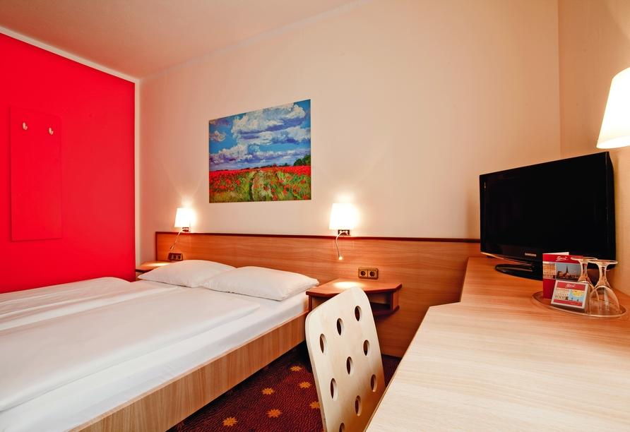 Hotel Die Kleine Sonne Rostock, Zimmerbeispiel