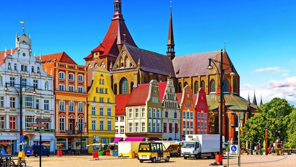 Hotel Die Kleine Sonne Rostock, Stadtansicht