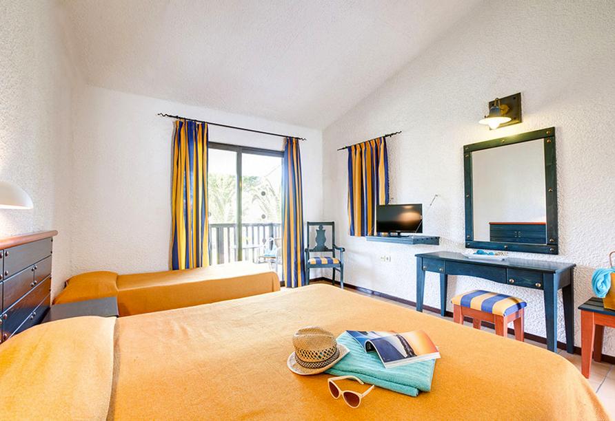 Beispiel Bungalow Gartenblick im Golden Coast Hotel & Bungalows