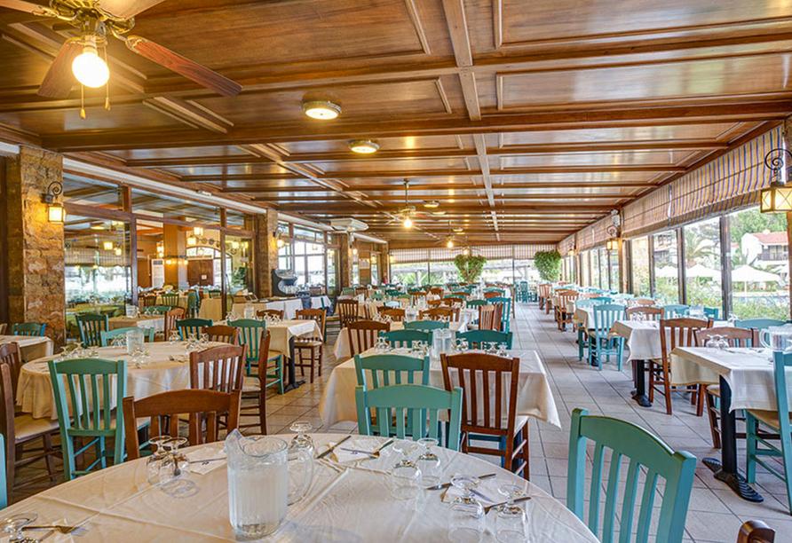 Auch kulinarisch dürfen Sie es sich im Restaurant des Hotels gut gehen lassen.