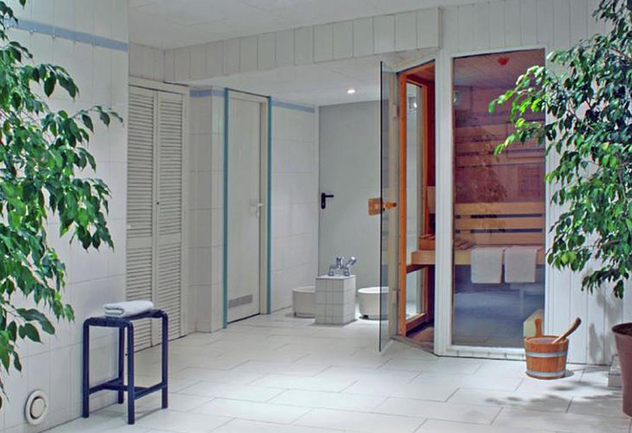 Saunabereich vom Best Western Hotel Leipzig City Center