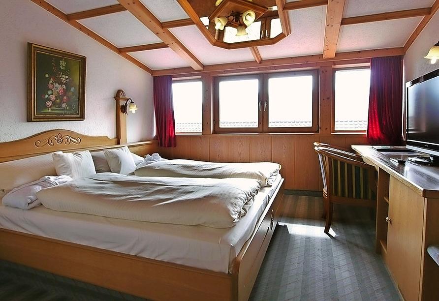 Beispiel eines Doppelzimmers vom Wellness & Sporthotel Bayerischer Hof