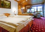 Beispiel eines Doppelzimmers Komfort vom Wellness & Sporthotel Bayerischer Hof
