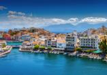 Agios Nikolaos ist eine wunderschöne Hafenstadt mit reicher Kulturgeschichte.