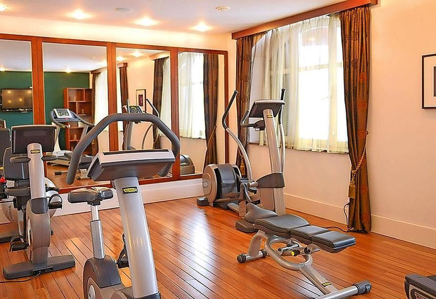 Fitnessraum im Wellnesshotel Palmenwald Schwarzwaldhof