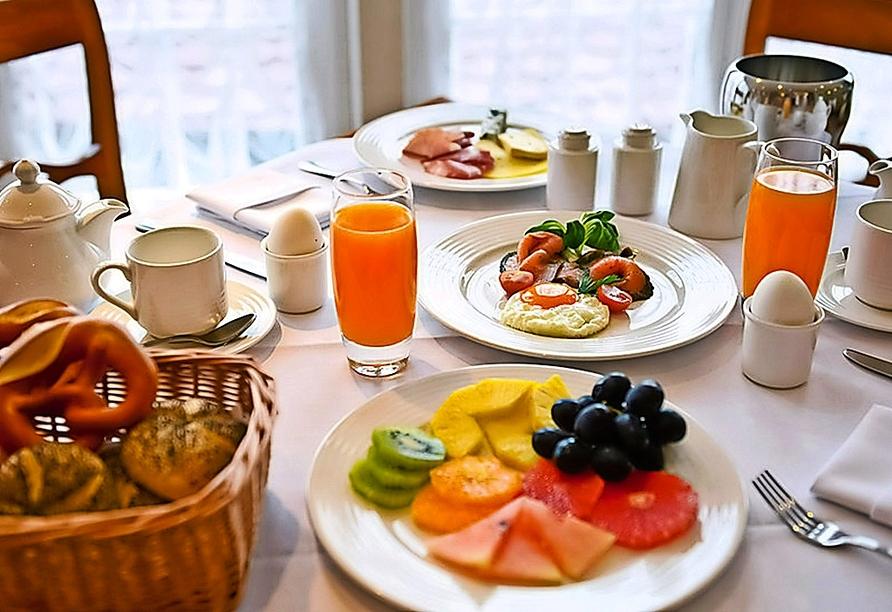 Starten Sie gut in den Tag im Wellnesshotel Palmenwald Schwarzwaldhof.