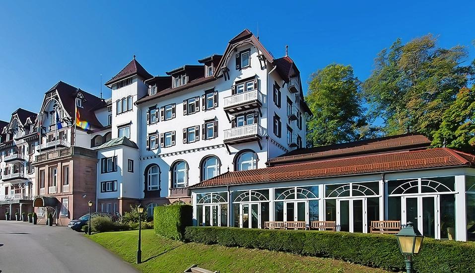Außenansicht Ihres Wellnesshotels Palmenwald Schwarzwaldhof in Freudenstadt