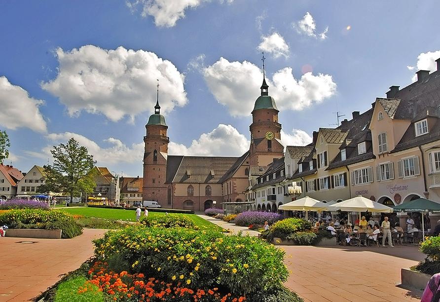 Freudenstadt erwartet Sie mit schönen Plätzen und einer kulturellen Vielfalt.