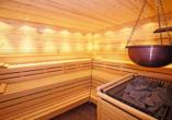 Entspannen Sie in der Sauna des Hotels Stadt Breisach.