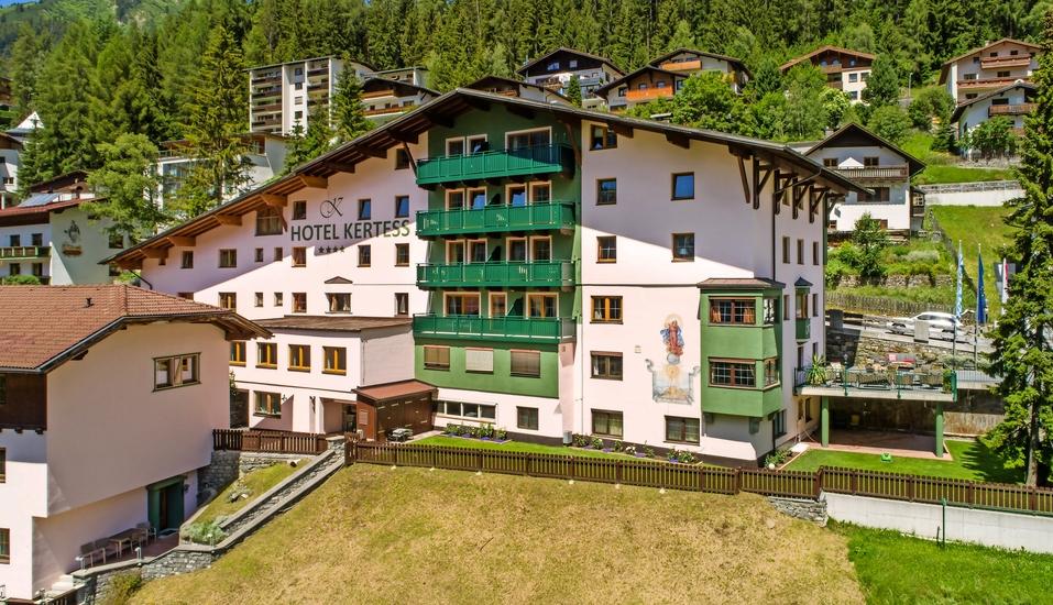 Hotel Kertess in St. Anton am Arlberg, Willkommen