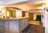 Hotel Kertess in St. Anton am Arlberg, Lobby