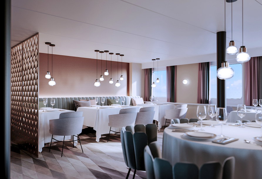 MS Aleksandra, Restaurant