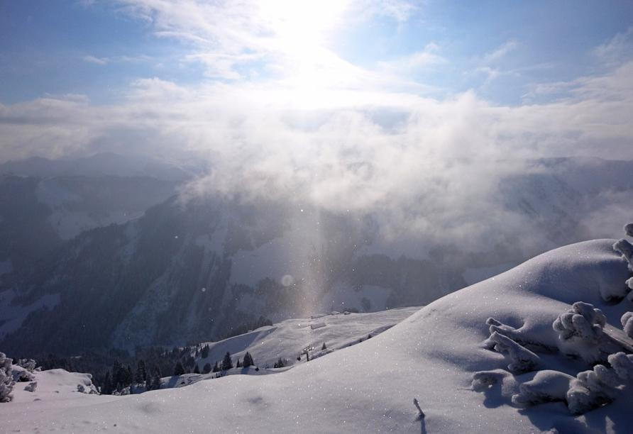 Bio-Pension Vorderlengau, Berglandschaft
