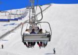 Bio-Pension Vorderlengau, Skilift