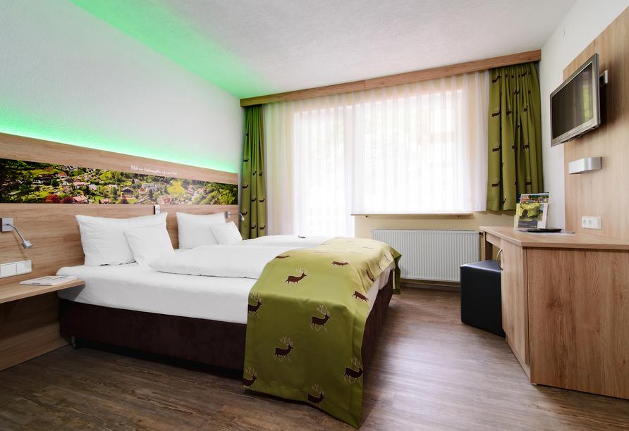 Beispiel eines Doppelzimmers Komfort