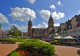 Freudenstadt begeistert nicht nur mit dem größten Marktplatz Deutschlands, sondern auch mit der imposanten Stadtkirche.