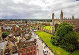 Cambridge ist vor allem wegen der renommierten Cambridge University bekannt.