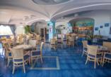 Im Restaurant des Hotel Terme Saint Raphael genießen Sie schmackhafte Speisen.