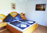Beispiel eines Schlafzimmers im Appartement