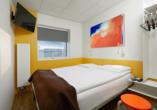 Zimmerbeispiel im Beispielhotel Hotel Cabin