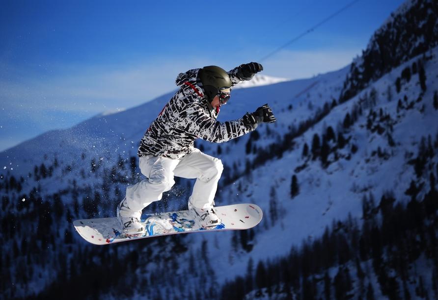 Hotel Villa Melì, Snowboard