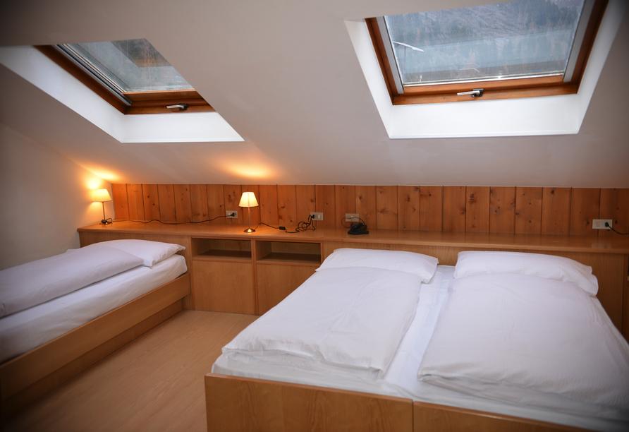 Hotel Villa Melì, Beispiel Familienzimmer