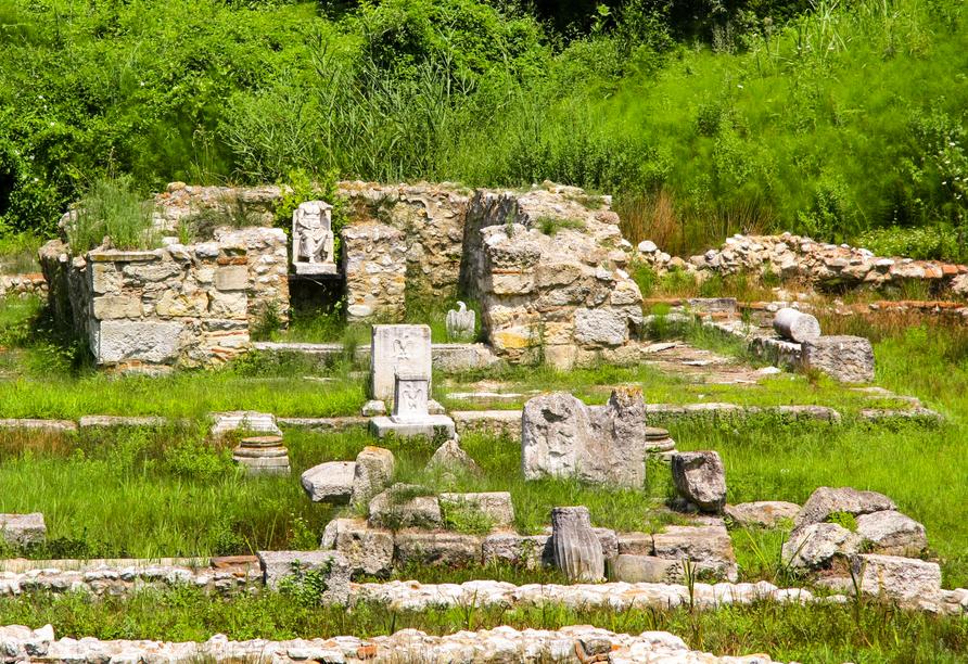 Freuen Sie sich auf eine Besichtigung der antiken Zeusstadt Dion.