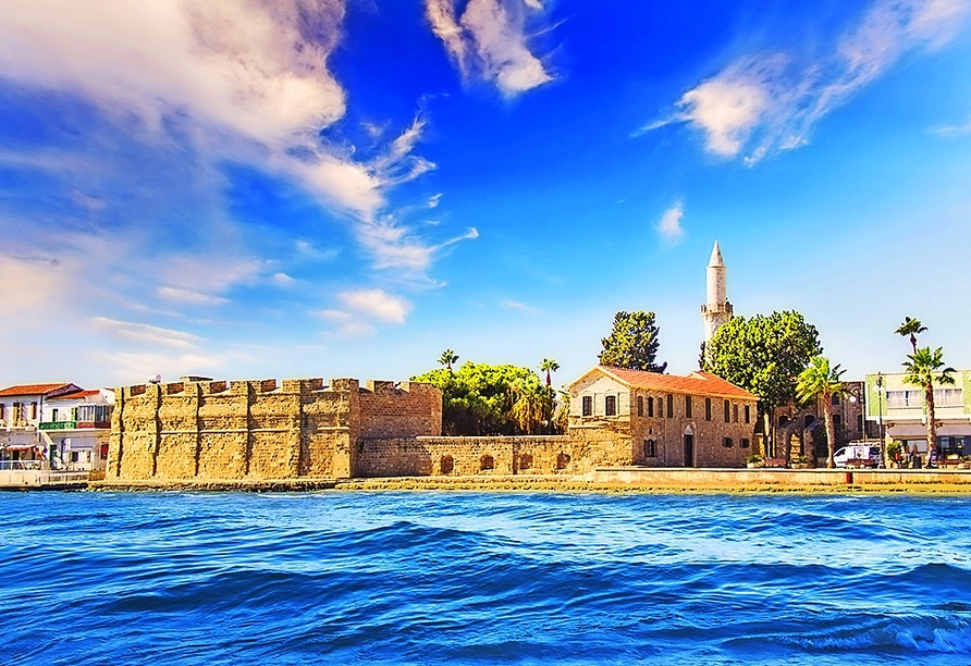 Die schöne Stadt Larnaca ist eines der Ausflugsziele.