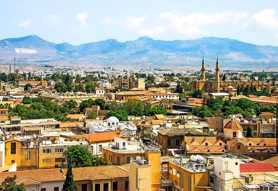 Nicosia ist die einzige geteilte Hauptstadt der Welt.