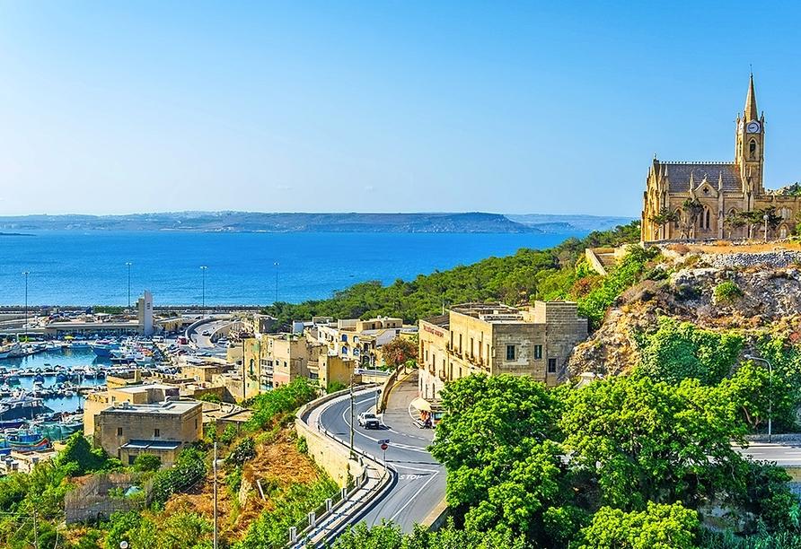 Auch Maltas Nachbarinsel Gozo hat einiges zu bieten.