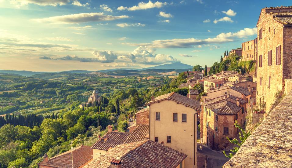 Borgo Magliano Resort, Toskana, Italien, Stadtmauern