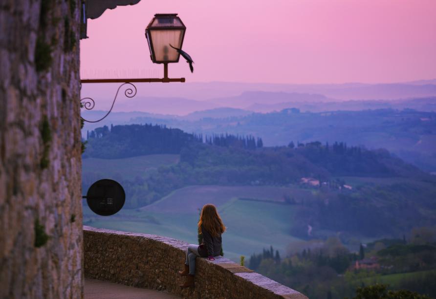 Borgo Magliano Resort, Toskana, Italien, Morgenstunden