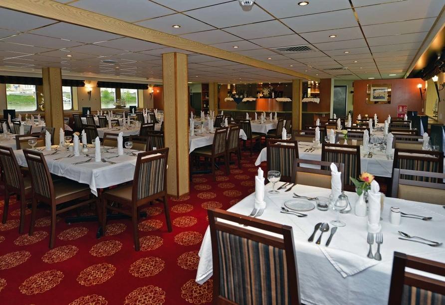 MS Normandie, Restaurant