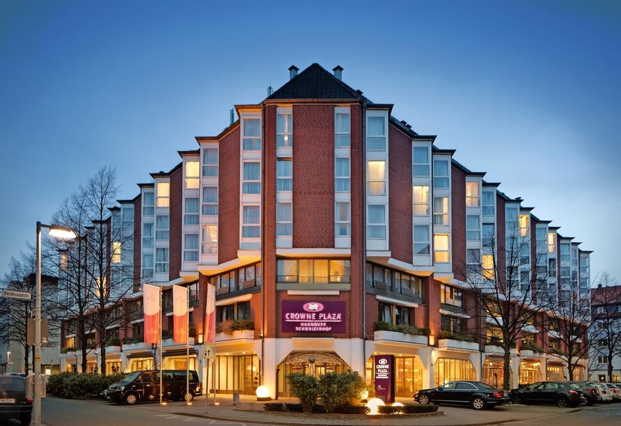 Hotel Crowne Plaza Hannover Schweizerhof, Außenansicht