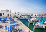Das schöne Dorf Naoussa verfügt über einen der schönsten Fischerhäfen ganz Griechenlands.