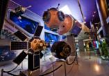 Im Kosmonauten Museum erhalten Sie einen spannenden Einblick in die Geschichte der Eroberung des Weltraums.