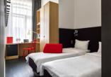 Kurzreise Russland, Zimmerbeispiel des Beispielhotels Azimut Tulskaya