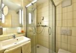 Beispiel eines Baddezimmers im Amber Hotel Leonberg