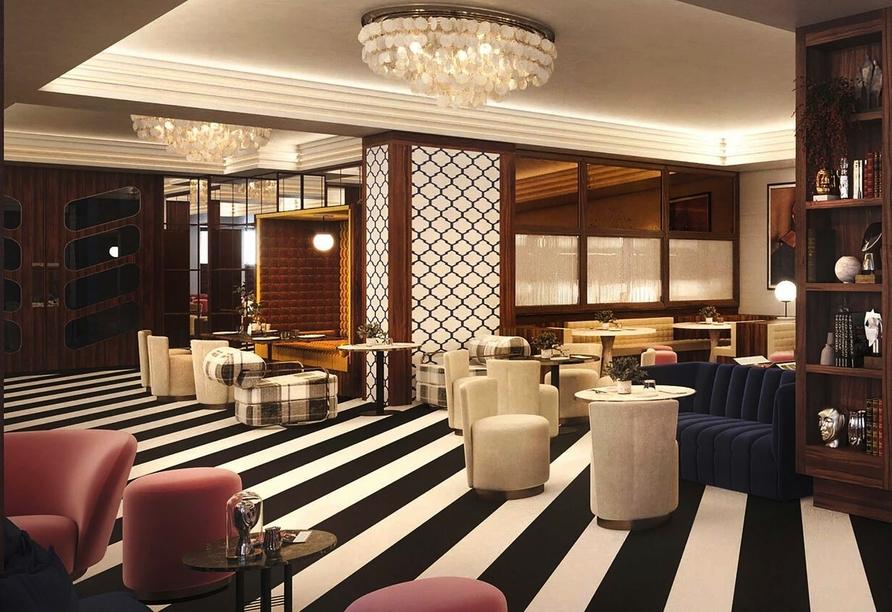 Lobby vom Beispielhotel Hotel Ercilla