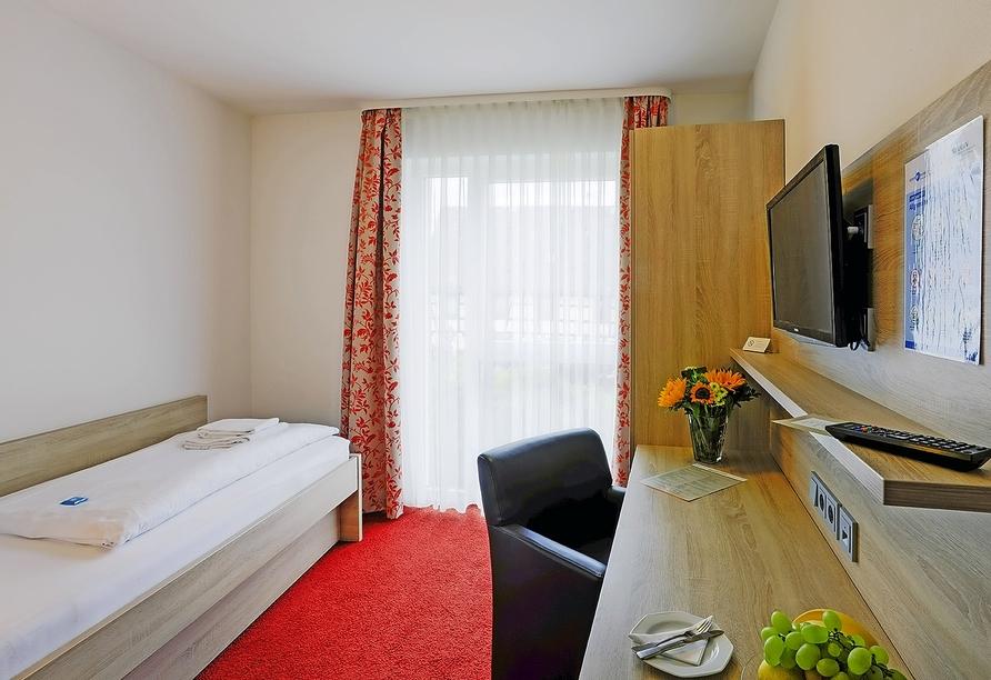 Hotel Lindenhof Osterspai Rhein, Zimmerbeispiel Einzel