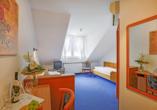 Hotel Lindenhof Osterspai Rhein, Zimmerbeispiel getrennte Betten