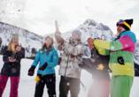Best Western Panoramahotel Talhof in Wängle bei Reutte in Tirol, Feier im Schnee