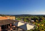 Borgo Magliano Resort, Toskana, Italien, Terrasse