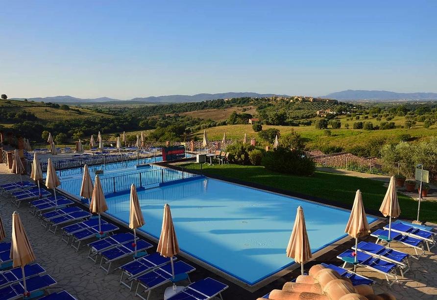 Borgo Magliano Resort, Toskana, Italien, Hotelpool