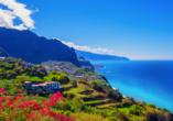 Madeira erwartet Sie mit einmaligen Panoramen.