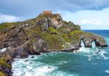 Die Felseninsel San Juan de Gaztelugatxe dürfte insbesondere Game of Thrones Fans ein Begriff sein.