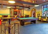 Das Hotel Dorf Wangerland bietet eine große Auswahl an Freizeitmöglichkeiten.