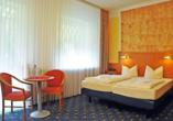 Beispiel eines Doppelzimmers im Hotel Dorf Wangerland